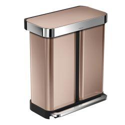 Waste Bin Liner Pocket Recycler | 24 + 34 L | Rose Gold