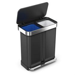 Waste Bin Liner Pocket Recycler | 24 + 34 L | Black