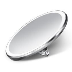 Sensorspiegel Kompakt ø 10 cm | Silber