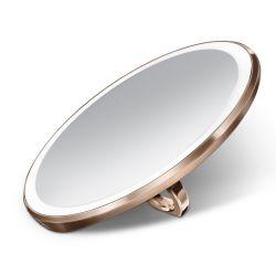Spiegel Sensor Compact ø 10 cm | Roségoud