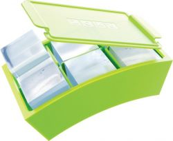 Ice Cube Maker Jumbo Set of 2 | Green