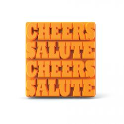 Ice Mold 'Cheers Salute'