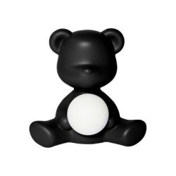 LED Lamp Teddy Girl | Schwarz