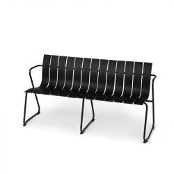 Outdoor Bench Ocean | Black