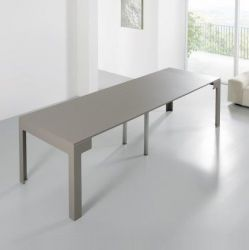 Ulisse Table avec 4 Extensions  | Gris Beige