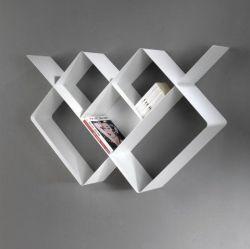 Mondrian Bookcase | Sandblasted White (22) & Sandblasted White (25)