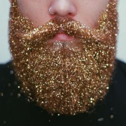 Glitter Beard Kit | Gold