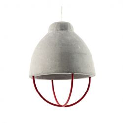 Pendant Lamp Marie | Grey & Red