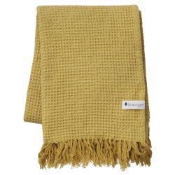 Towel Waffly 70 x 120 cm | Ochre