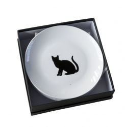 Set of 6 silhouet plates