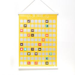 Scratch Poster 100 Cheeses