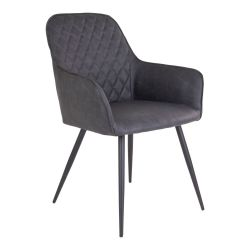 Dining Chair Harbo | Dark Grey