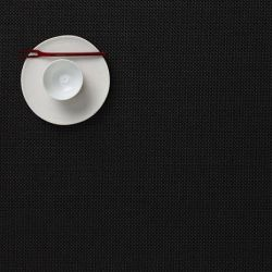 Rectangle Placemat | Vinyl Mini Basketweave | Black