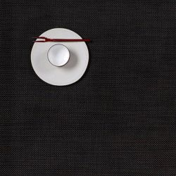 Rectangle Placemat | Vinyl Mini Basketweave | Espresso