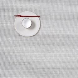 Rectangle Placemat | Vinyl Mini Basketweave | White