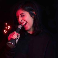 Kabelloses Karaoke-Mikrofon
