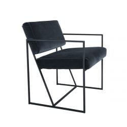 Loungechair Fiori | Dark Grey