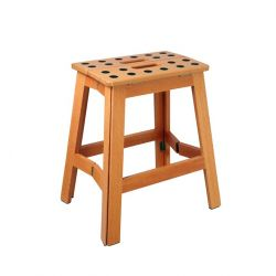 Tabouret en Bois James XL