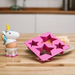 Egg Cup & Toast Cutter | Unicorn