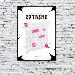 Scratch & Reveal Poster Extreme