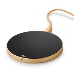 Wireless Charger | Black / Gold
