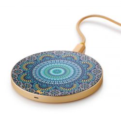 Wireless Charger | Moroccan Mosaic / Gold