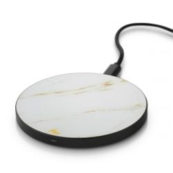 Wireless Charger | Cararra Gold / Black