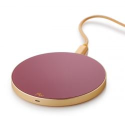 Wireless Charger | Dusty Pink / Gold