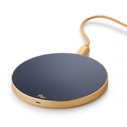 Wireless Charger | Royal Blue / Gold