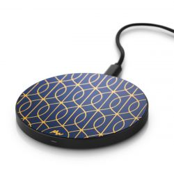 Wireless Charger | Tracery Trellis / Black