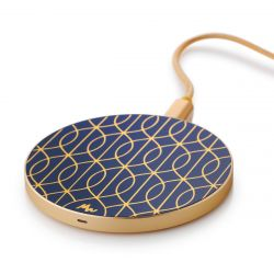 Wireless Charger | Tracery Trellis / Gold