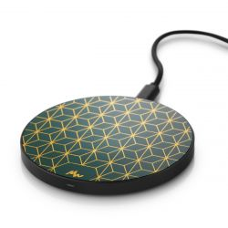 Wireless Charger | Geometric / Black