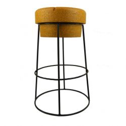 Bar Stool Giant Champagne Cork | Black Wire