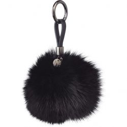 Key Chain Pom Pom | Black