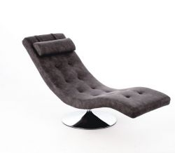 Lounge Chair Sleeper | Vintage Grey