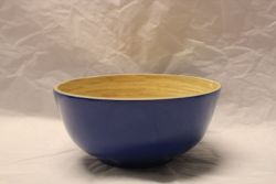 Bamboo Gunilla Bowl Dark Blue