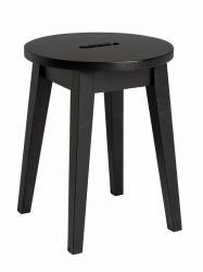 Stool Confetti | Black Stained Oak