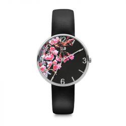 Frauen-Uhr Blossom 36 | Schwarz