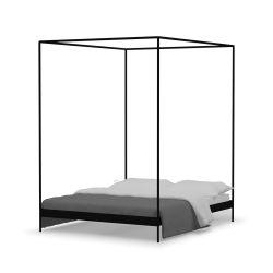 Eton-Bett | Schwarz