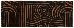 Design Carpet Fantastique | Black/Brown