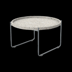 Table Basse Terrazzo | Gris