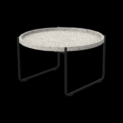 Coffee Table Terrazzo  | Dark Grey