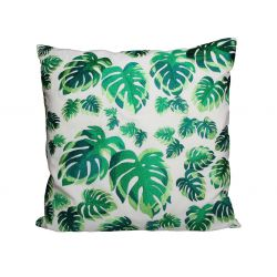 Cushion Leaves 50x50cm | Dark Green