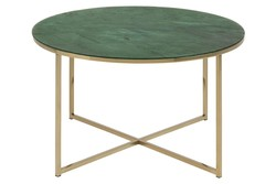 Coffee Table Alisma Ø 80 | Green Marble