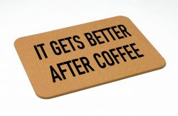 Bath Mat | It Gets Better After Coffee