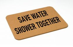 Bath Mat | Save Water
