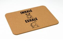 Bath Mat | Inhale / Exhale
