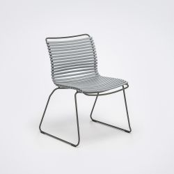 Outdoor Dining Chair Click | Grey