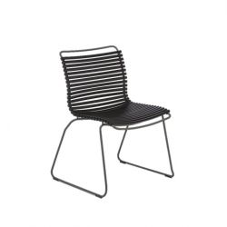Outdoor Dining Chair Click | Black