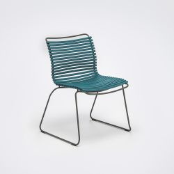 Outdoor Dining Chair Click | Petrol